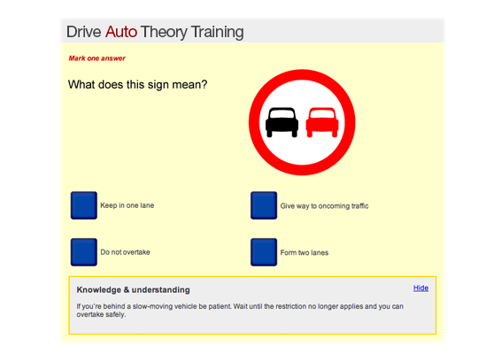 Theory Training
